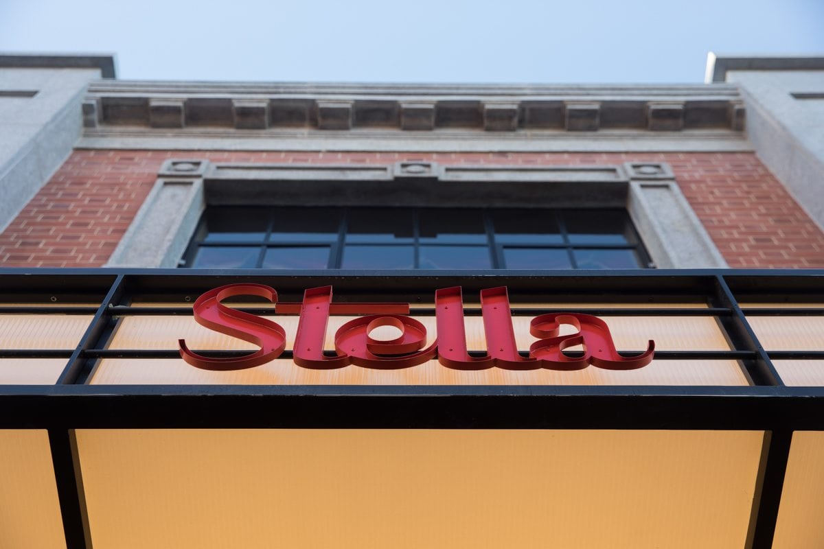 Stellla Theatre Rathmines front sign